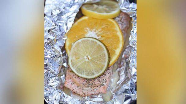 PHOTO: Grilled Citrus Salmon Packets