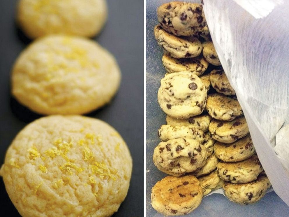 PHOTO: Some of the cookies Cory sells: chocolate chip and lemon.