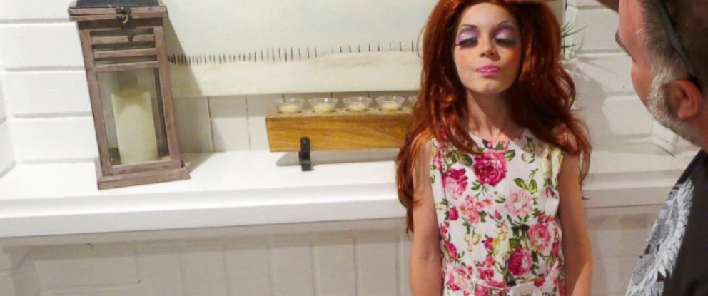 """PHOTO: C.J. Duron, 9, of Orange County, California, has put together a Halloween costume inspired by Bob the Drag Queen, the season 8 winner of """"RuPauls Drag Race."""""""