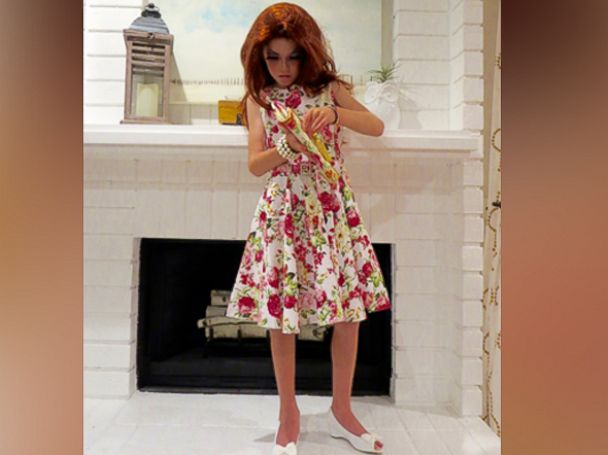 PHOTO: C.J. Duron, 9, of Orange County, California, has put together a Halloween costume inspired by Bob the Drag Queen, the season 8 winner of RuPauls Drag Race.