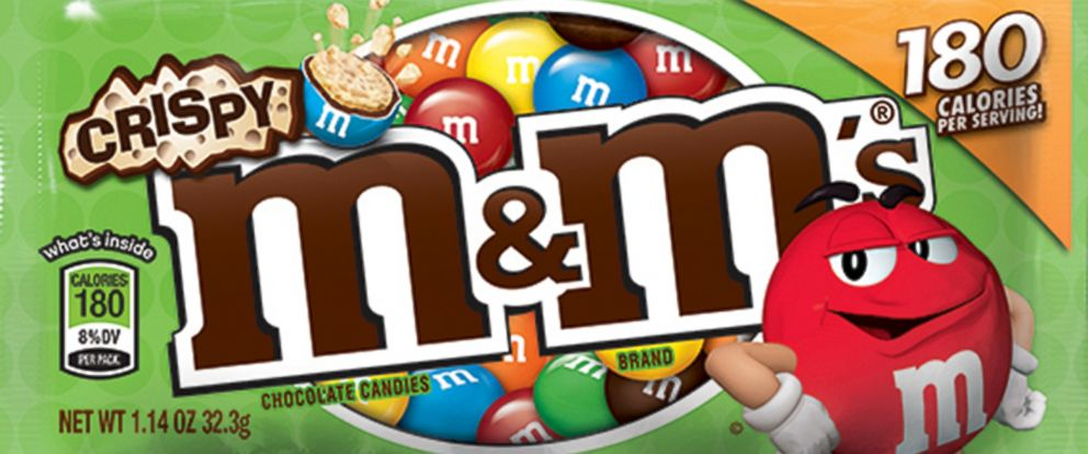 PHOTO: Crispy M&Ms are coming back, thanks to social media fan campaigns.