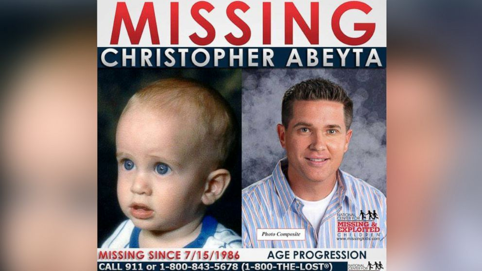 Bernice Abeyta, 73, of Colorado Springs, Colorado is making a final plea to locate her son, Christopher, who on the night of July 15, 1986, was taken from his crib at just 7 months old.