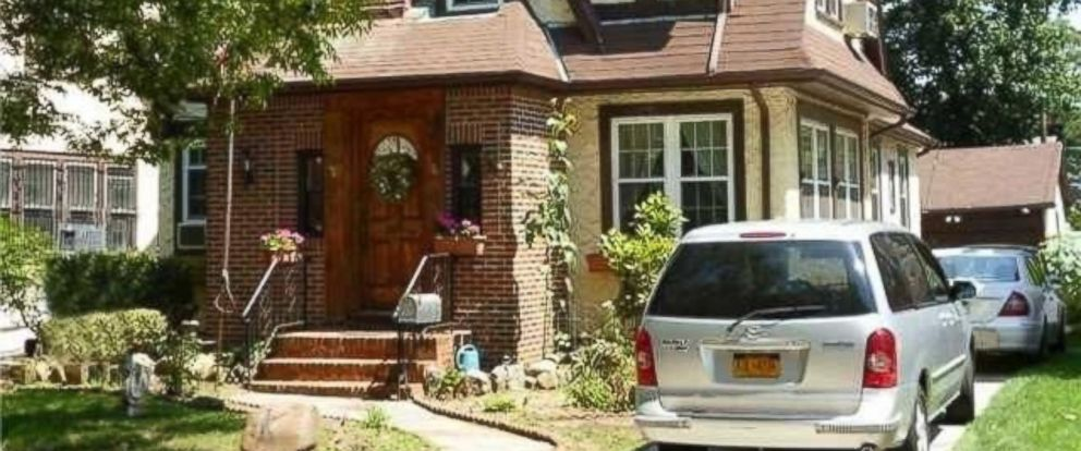 PHOTO: Donald Trumps childhood home is up for sale in Jamaica Estates, New York.