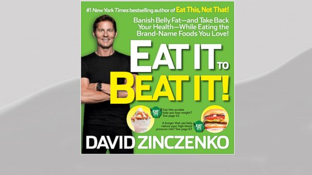 """PHOTO: ABC News Nutrition and Wellness Editor Dave Zinczenko is coming out with a new book, """"Eat It to Beat It!: Banish Belly Fat-and Take Back Your Health-While Eating the Brand-Name Foods You Love!"""""""