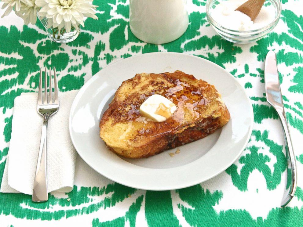 PHOTO: Eggnog french toast.