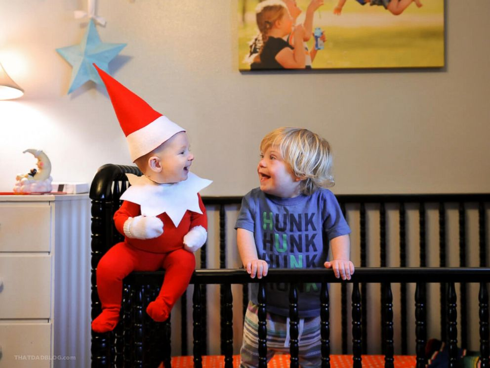 Dad Blogger Turns Infant Son Into Real Life Elf On The