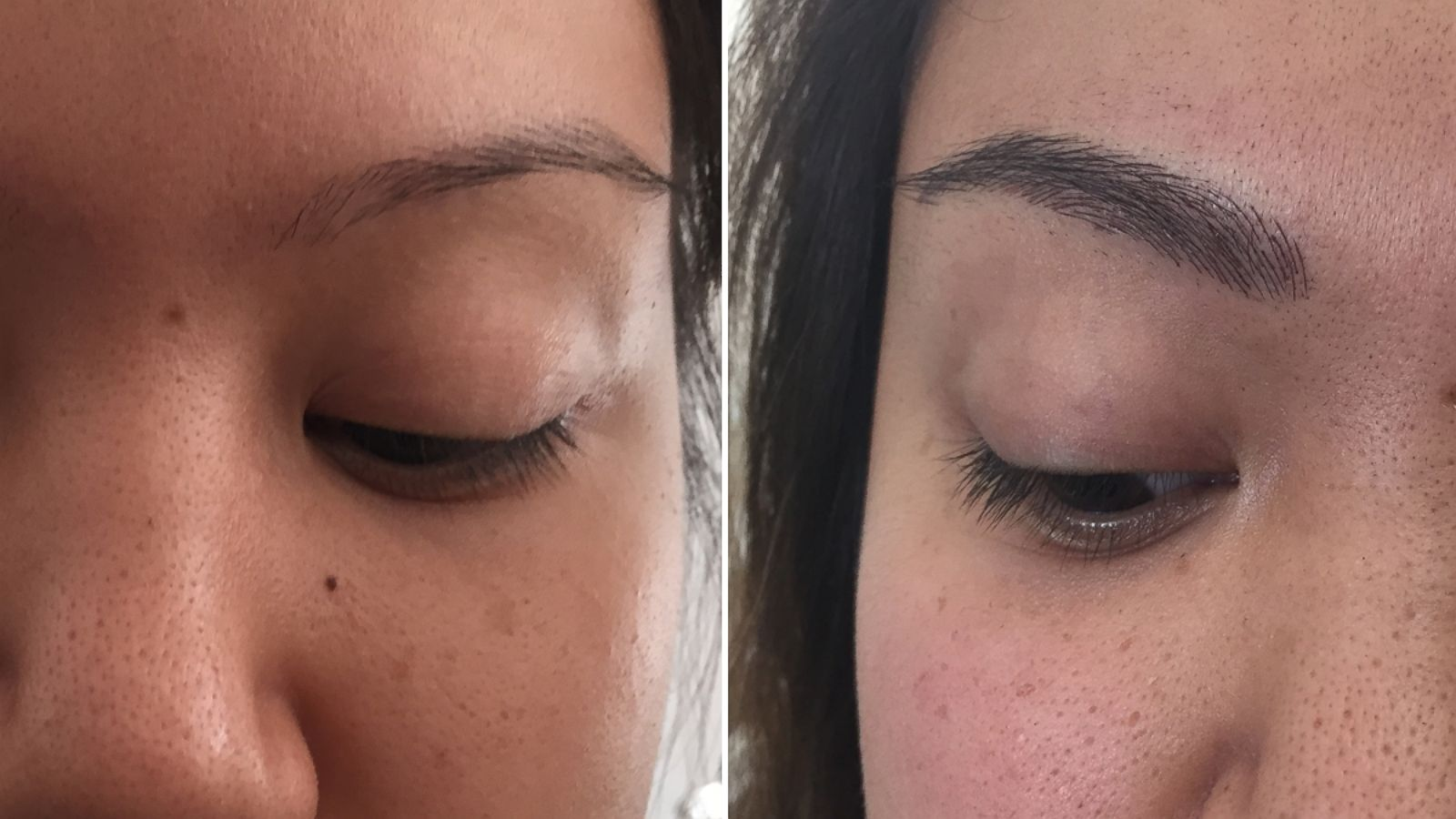 Eyebrow Embroidery Semi Permanent Ink Gives Brows Fuller Look For