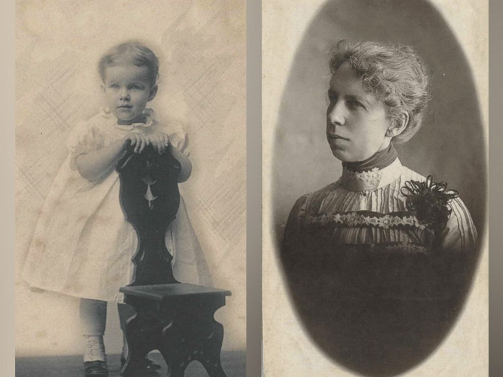 PHOTO: Marion Wilson Sheldon and her granddaughter Helen Sheldon Brockett.