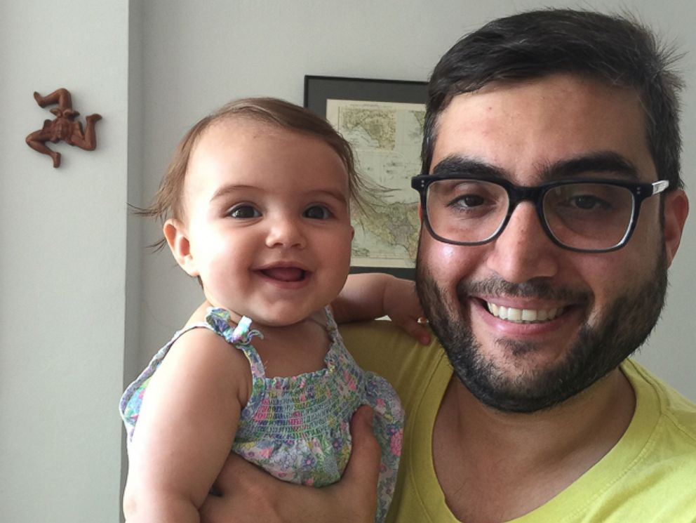 PHOTO: ABC News Andy Asaro, of Brooklyn, New York, with his 5-month-old daughter, Cordelia.