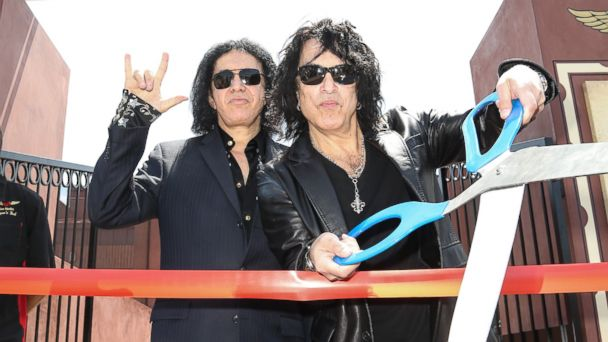 PHOTO: Paul Stanley & Gene Simmons, restaurateurs.