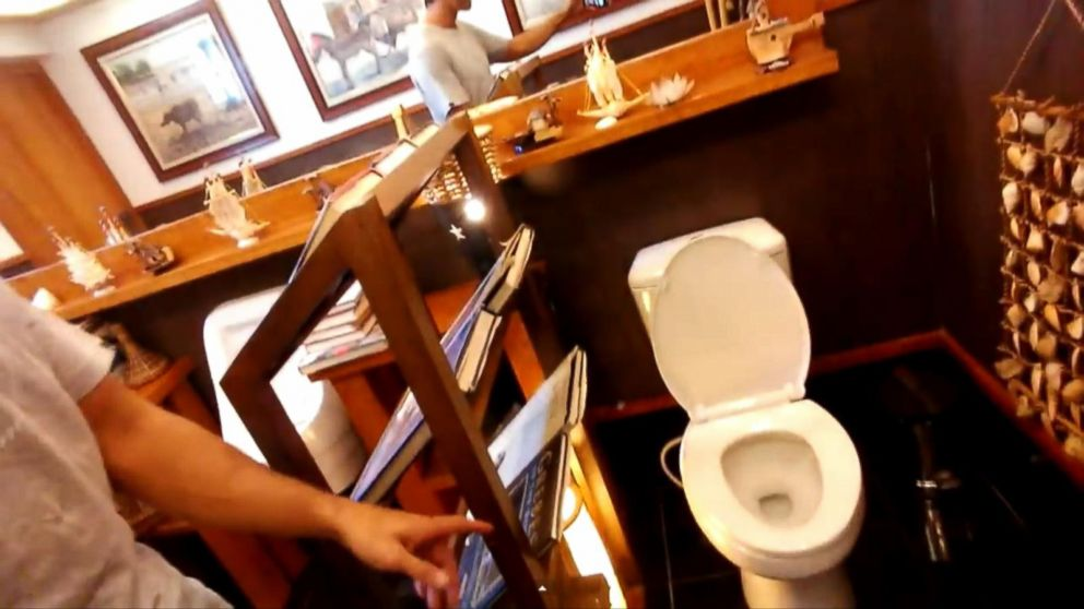Awesome Gas Station Bathroom Will Leave You Flush With Excitement Abc News