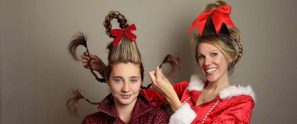 Photo Lindsey Buckner Of Dewitt Mich Created Hairstyles From Whoville Saay For Her