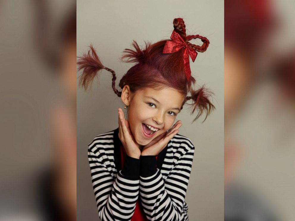 Photo Buckner Said This Year Her Whoville Hair Station Yielded 150 Customers And 1 600