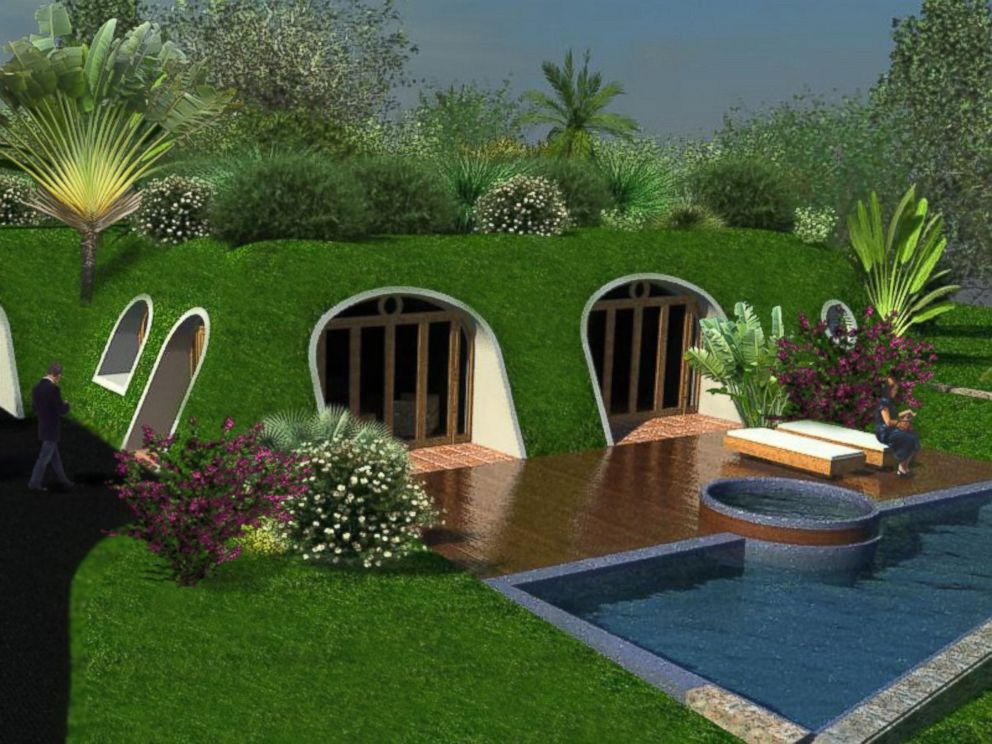 Company creates 39 lord of the rings 39 inspired 39 hobbit homes for Earth sheltered home cost