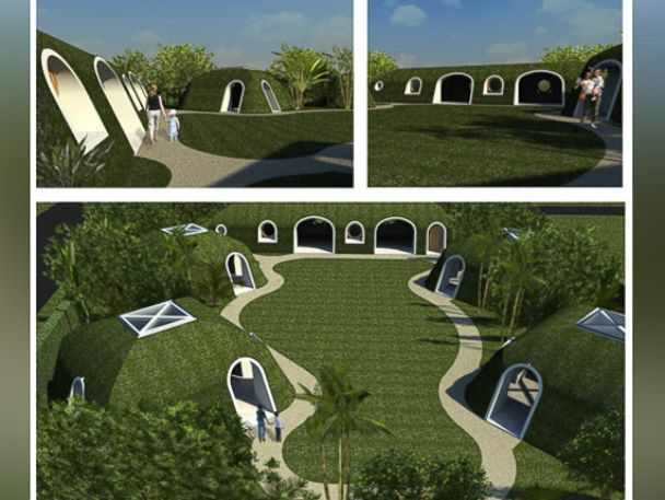PHOTO: Green Magic Homes is changing the way we think about sustainable green living and earth sheltered homes.