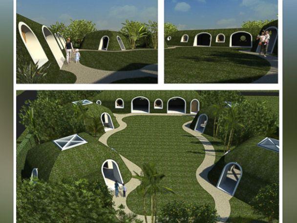Green Magic Homes & Company Creates \u0027Lord of the Rings\u0027 Inspired \u0027Hobbit Homes\u0027 - ABC News