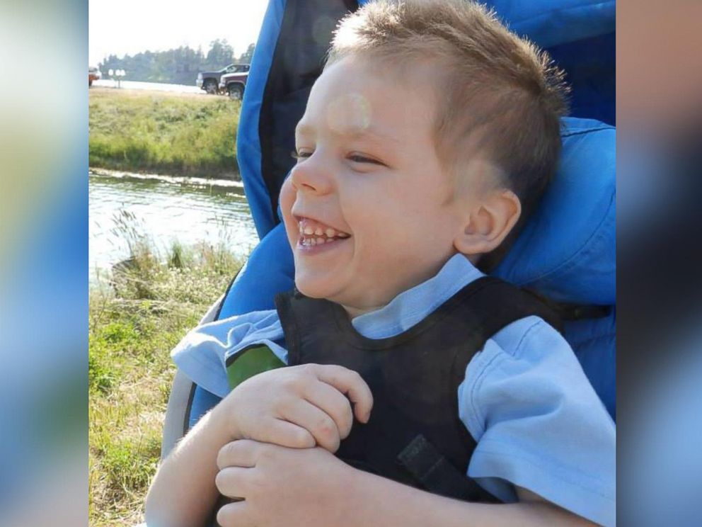 PHOTO: Gideon is now 5 years old and suffered from brain and organ damage as a result of the incident.