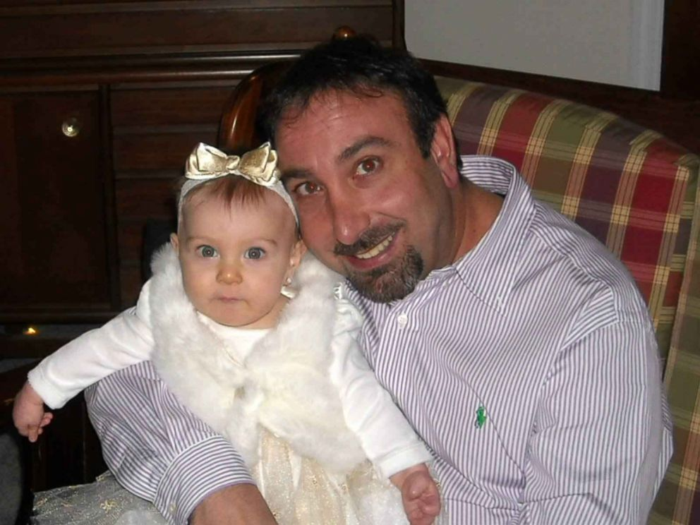 PHOTO: Brett Cavaliero, the father, shown here with baby Sophia Rayne Ray Ray Cavaliero, was not charged after accidentally forgetting his daughter in the car on May 25, 2011.