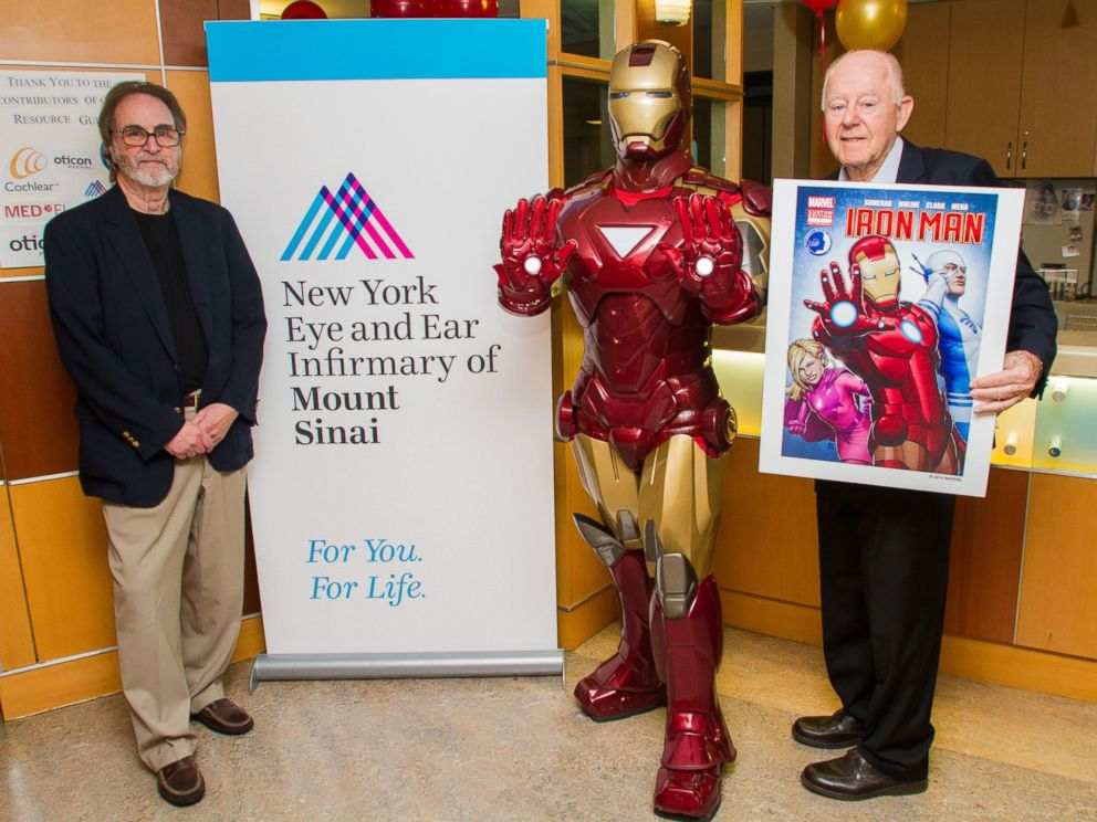 PHOTO: The Childrens Hearing Institute and Marvel Comics announce the new Comic Book character Sapheara at The Childrens Hearing Institutes Headquarters: The Ear Institute of The New York Eye & Ear Infirmary of Mount Sinai in New York City.