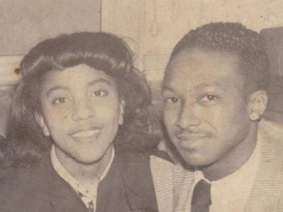 PHOTO: Johnnie Hodges Sr. pictured with his wife Flora in an undated photo.