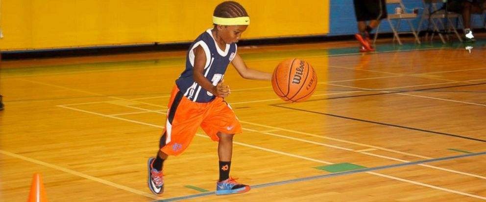 PHOTO: Josiah Brown is a four-year-old basketball player from Wilmington, N.C.