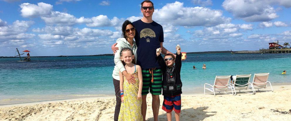 PHOTO:Karen Alpert of Chicago pictured with her husband Greg Alpert, daughter Zoey Alpert, 7 and son, Holden Alpert, 4.