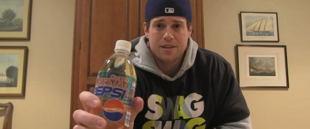 PHOTO: Kevin Strahle is campaigning to bring Crystal Pepsi back.