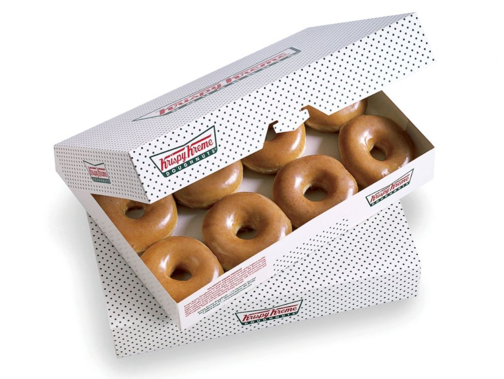 PHOTO: The original glazed Krispy Kreme.
