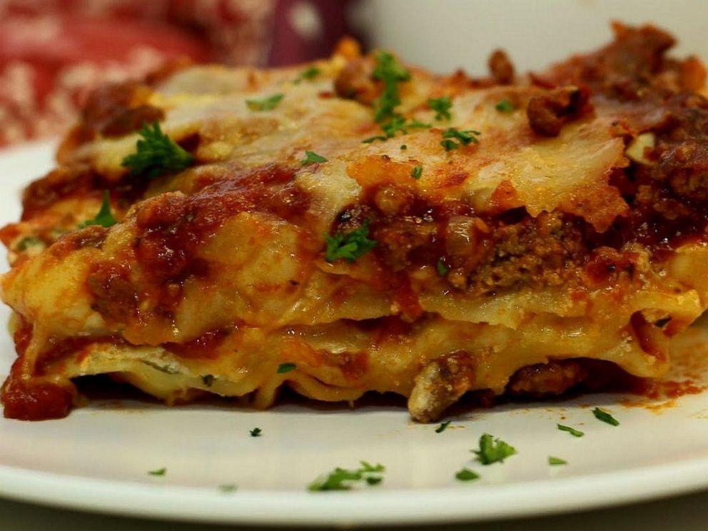 PHOTO: John Chandlers Worlds Best Lasagna on AllRecipes.com.