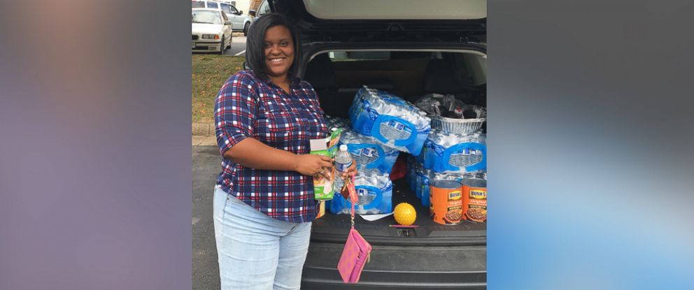 PHOTO: Lauren Puryear, 29, has set a goal to deliver meals to 30,000 before her 30th birthday next September.
