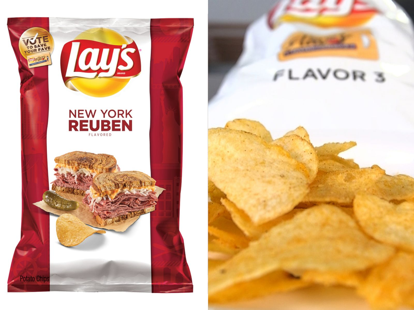 Lay's Mystery Potato Chip Flavors Revealed - ABC News