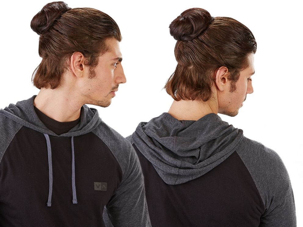 The Story Behind Groupons Clip In Man Buns That Caused An Internet