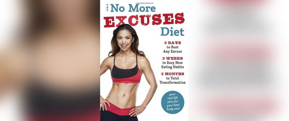 "PHOTO: Maria Kangs book, ""No More Excuses Diet."""