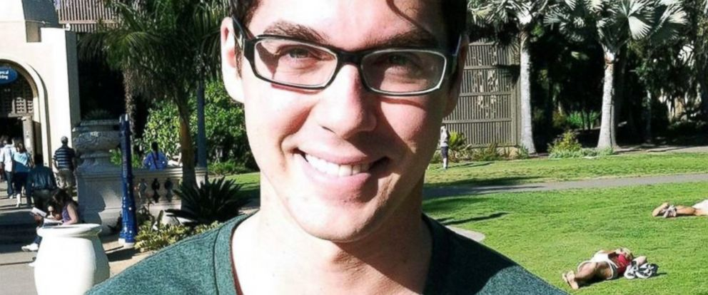 PHOTO: Matthew Jackson, 28, died in a November 11 car crash in Oceanside, California one day after showing a stranger a random act of kindness.