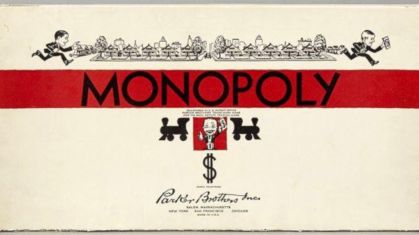 PHOTO: Monopoly Game (1935)