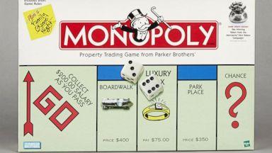 PHOTO: Monopoly 1996 Game