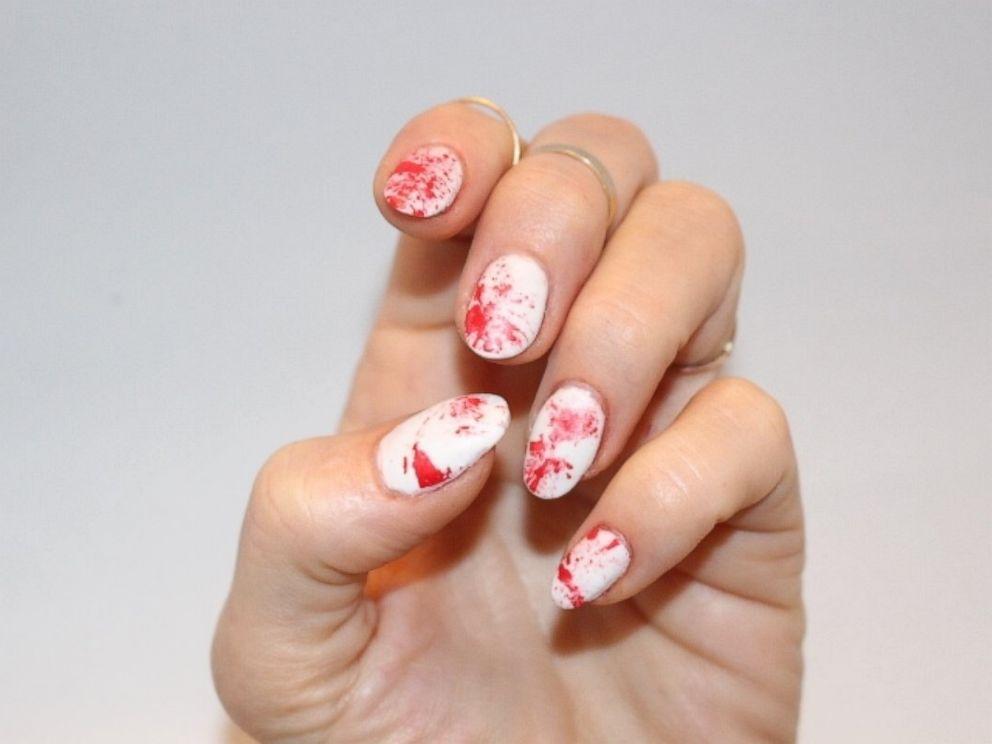Simple Diy Halloween Nail Art Abc News