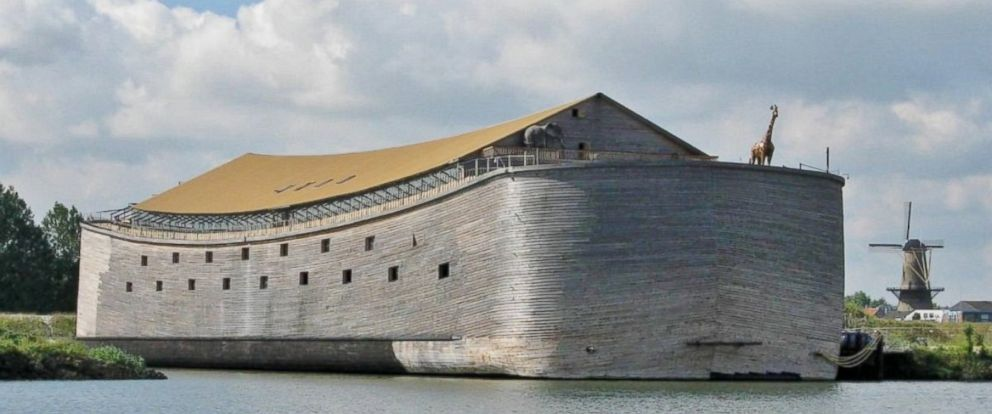 PHOTO: A Noahs Ark replica built in the Netherlands may set sail for Brazil this year.