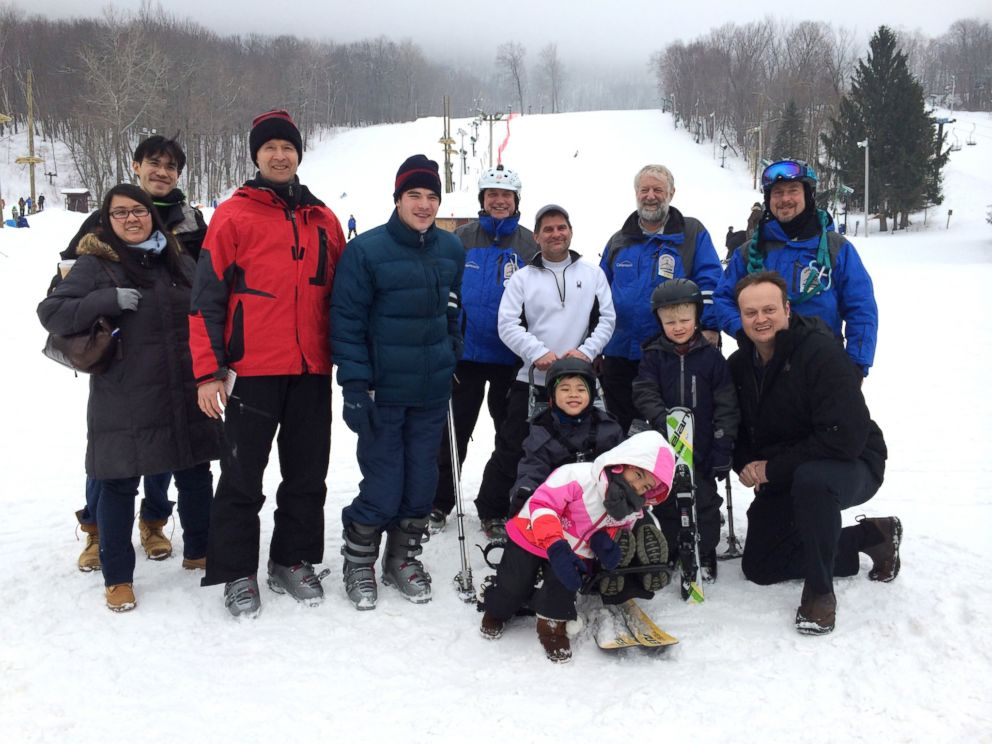PHOTO: Children with cerebral palsy and paralysis wont let their disabilities keep them from enjoying the ski slopes thanks to a new program at NYU Langone Medical Center.
