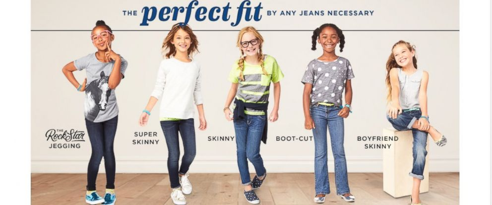 dd4244e1 Should Old Navy Advertise 'Boyfriend' Jeans to Kids? - ABC News