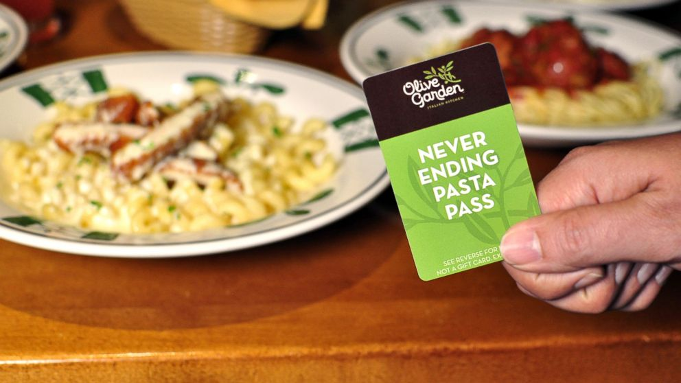 Looking Back At 7 Weeks Of Olive Gardens Never Ending Pasta Abc News