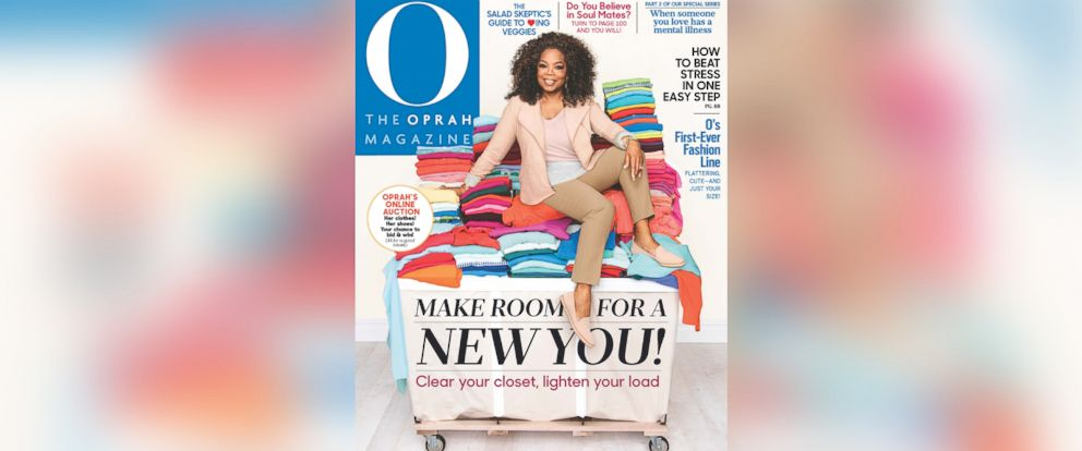"""PHOTO: Oprah Winfrey is cleaning out """"The Oprah Winfrey Show"""" closet and teamed up with eBay to put the items up for auction for charity."""