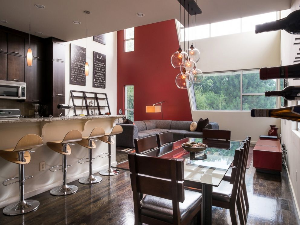 PHOTO: This modern two-bedroom loft and recording studio in Atlanta, Georgia is $287 per night for four guests.