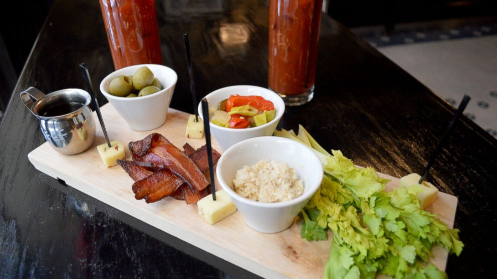 More restaurants are having guests DIY. Pictured, the Parker & Quinn Brunch Board.