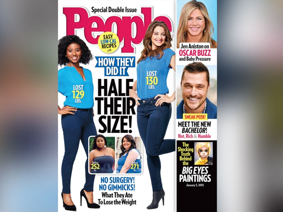 PHOTO: The People Magazine Half Their Size issue is on newsstands Dec. 23, 2014.