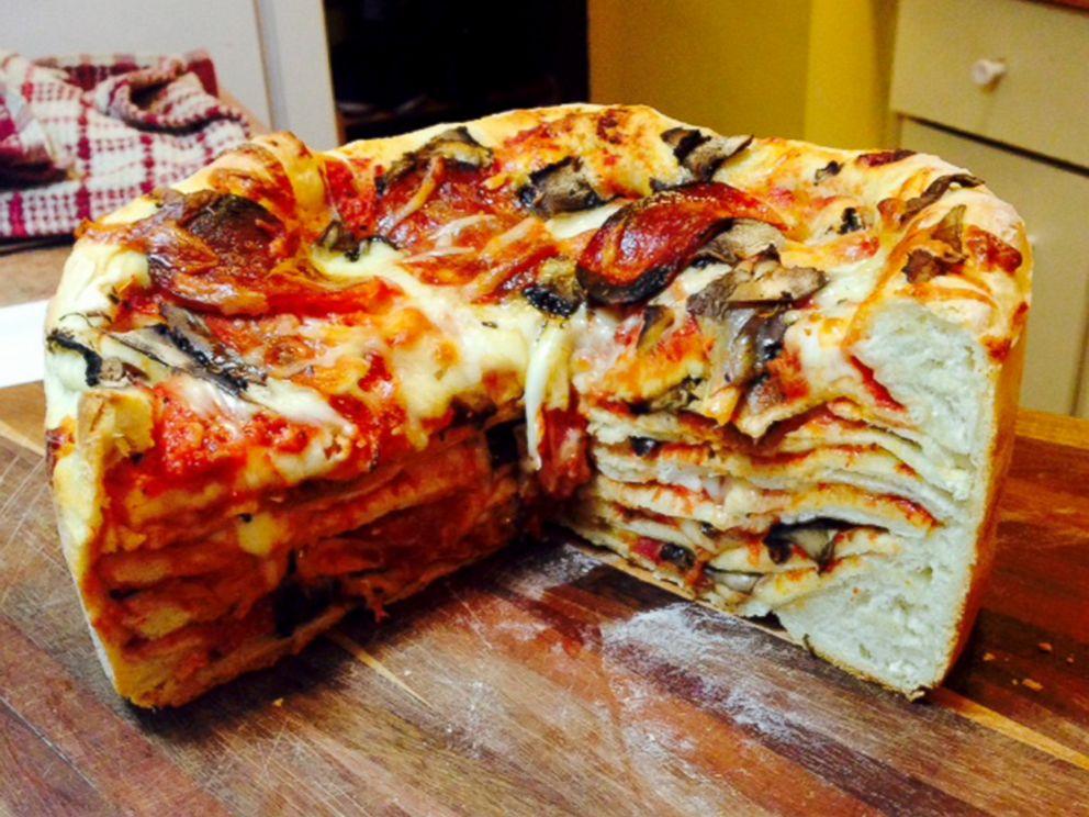 Pizzadilla Cake