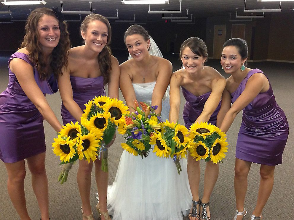 PHOTO: Bride Sarah Simonic