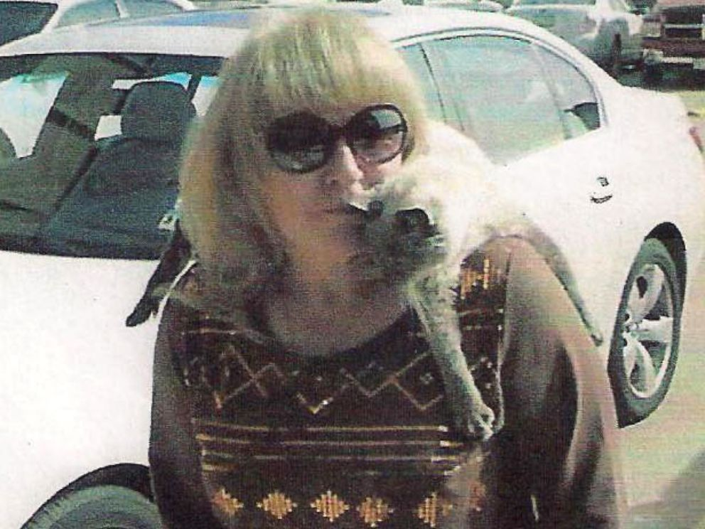 PHOTO: Scooter photographed with his owner, Gail Floyd, in January 2004.