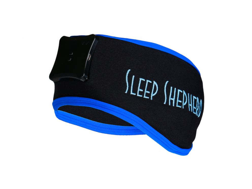 PHOTO: The Sleep Shepherd Blue uses specially-engineered binaural beats to help you fall asleep faster, and when regulated, stay asleep longer.