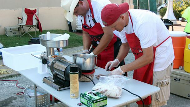 PHOTO: World Championship Squirrel Cook Off